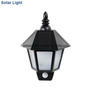 Plastic Housing Solar Wall Night Lamp with PIR Sensor pictures & photos