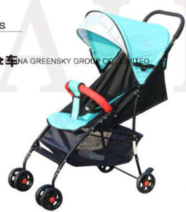 Ty-502 Portable Baby Stroller in Lightblue pictures & photos