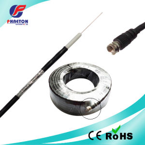 RG6 Coaxial Cable with RF Connector of CATV Communication Cable pictures & photos