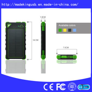High Capacity Wholesale Portable Sun Solar Power Bank pictures & photos