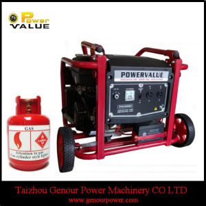 Cheap Price China 2.5kw 2.5kVA Household LPG Gas Generator pictures & photos