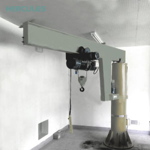Marine Crane with Hydraulic Telescopic Booms 1t pictures & photos