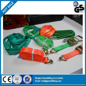 25mm Auto Ratchet Tie Down Strap pictures & photos