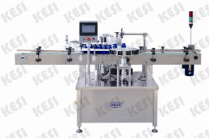 Orientated Wrap- Around Labeling Machine with Pneumatic Arm pictures & photos