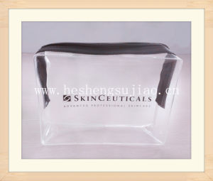 High Quality Clear PVC Cosmetic Bag for Make-up Non-Phthalate Report pictures & photos