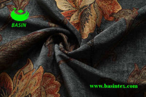 Jacquard Chenille Fabric (BS7006) pictures & photos