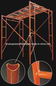 Painting Metal Used Frame Scaffolding for Sale pictures & photos