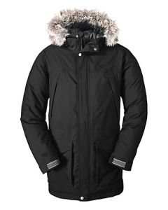 Mens First Quality Ultra Warm Long Winter Down Jacket pictures & photos