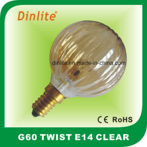 25W 40W 60W Twist Incandescent Bulb pictures & photos