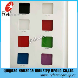 4mm Back Painted Glass / Back Color Glass / White Painted Glass /Black Painted Glass pictures & photos