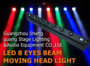 LED 8 Eyes Beam Moving Head Light pictures & photos