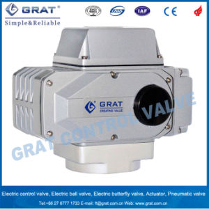 Dcl Al-Alloy High Quality Electric Control Actuator Valve pictures & photos