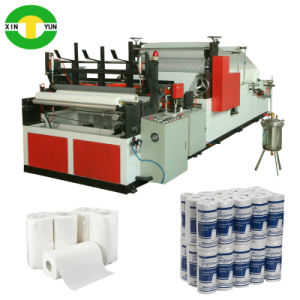 High Speed Printing Kitchen Towel Paper Roll Machine Price pictures & photos