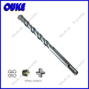 Carbide Tip SDS Plus Hammer Drill Bit Cross Head pictures & photos