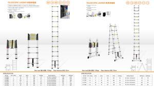 Aluminium Scaffolding Ladder/Telescopic Ladder pictures & photos