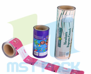 Roll Film with Window; Packaging Film pictures & photos