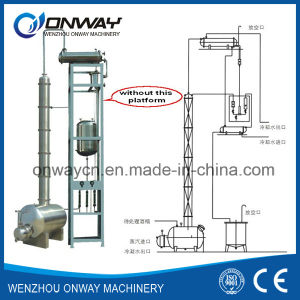 Jh Highe Efficent High Purity Stainless Steel Ethanol Methanol Alcohol Distillation Machine pictures & photos