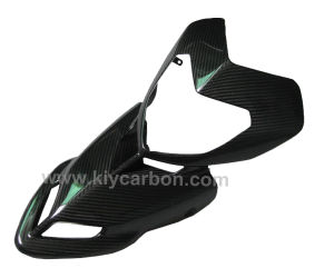 Carbon Fiber Upper Front Fairing for Ducati Hypermotard 1100 1100s pictures & photos