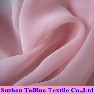 100% Polyester Soft Chiffon for Lady Garment Fabric pictures & photos