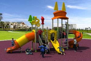 New Design Outdoor Playground Slide Amusement Equipment pictures & photos