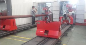 Pipe Prefabrication Line in Container pictures & photos