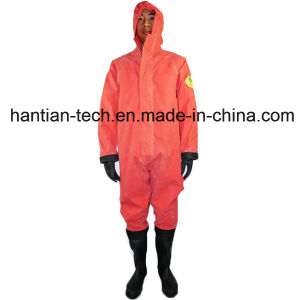 Grade 2 Anti-Fire Material Chemical Suit for Personal Protective (2WL) pictures & photos