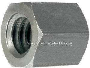 Trapezoidal Thread Carbon Steel Hex Hexogan Nut pictures & photos