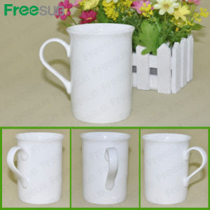 Freesub Factory Supply Coated Bone China Sublimation Mug pictures & photos