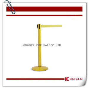 Yellow Coated Crowd Control Stanchion pictures & photos