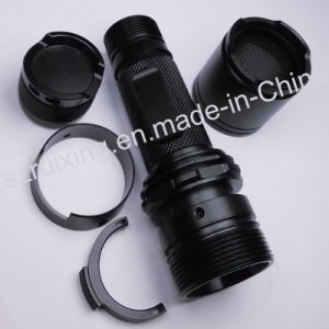 China Custom Made Machining for Aluminum Flashlight Part