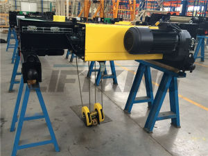 Ce Proved High Quality Doubel Beam Electric Wire Rope Hoist pictures & photos