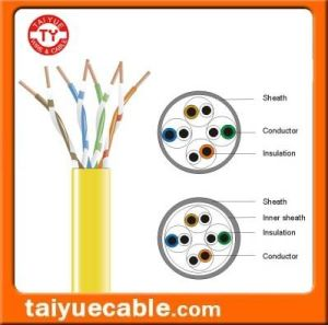 Supply The UTP/FTP/SFTP 4pairs Cat 6 Network LAN Cable pictures & photos