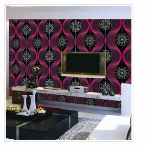 3D Wallpaper PVC Modern Design 3D Wallpapers for Home Decoration pictures & photos