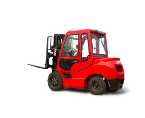 Forklift with Cabin Diesel Forklift Truck pictures & photos