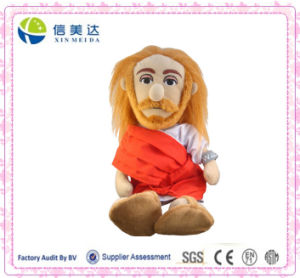 Exquisite 3D Jesus Christ Plush Little Thinker Doll pictures & photos