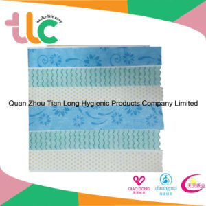 Hot Sale Product Hydrophilic Adl Nonwoven Fabric for Baby Diaper pictures & photos