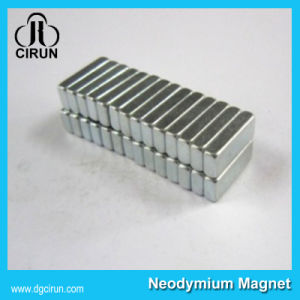 Strong Rare Earth Block Bar Permanent NdFeB Magnet pictures & photos