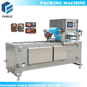 Auto Plastic Cup Tray Sealing Machine for Milk (VC-2) pictures & photos