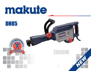 Makute High Quality Power Tools 65 Demolition Hammer (DH65) pictures & photos