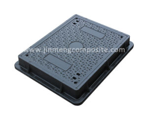 En124 D400 SMC Composite Manhole Cover 600X450mm pictures & photos