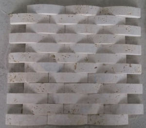 Arch Mosaic Tile Stone Marble Mosaic (HSM227) pictures & photos