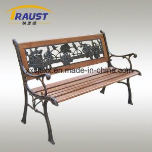 Garden Furniture Backless Wooden Slatted Garden Bench pictures & photos