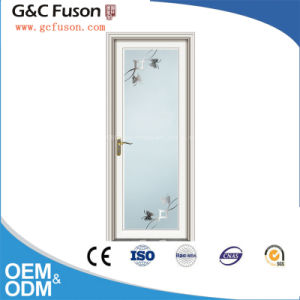 Double Security Glass Aluminum Door for Bathroom pictures & photos