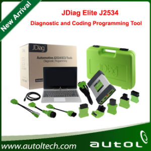 2016 New Arrival Jdiag Elite J2534 Diagnostic and Coding Programming Tool with Jdiag Tablet and Software Preinstalled pictures & photos