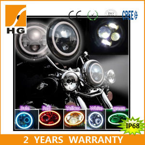 7inch Color Change Halo LED Headlights for Harley Davidson pictures & photos