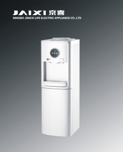 Hot and Cold Floor Water Dispenser with Compressor Cooling and Refrigerator