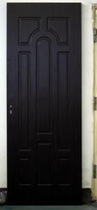 Oriental Style PVC Balcony Room Office Interior Door pictures & photos