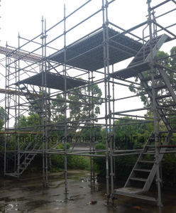 Aus/Nz Standard Galvanized Scaffolding for Outdoor Construction pictures & photos