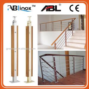 Modern House Design Banisters and Handrail Dd032 pictures & photos