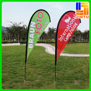 Dye Sublimation Printing Flying Convex Flag